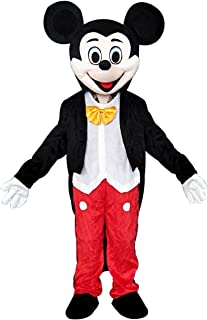 Mickey Mouse Adult Mascot Costume Cosplay Fancy Dress Outfit