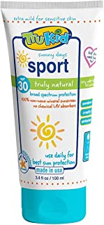 TruKid Sport Water Resistant Sunny Days SPF30+ Lotion, Unscented, 100ml