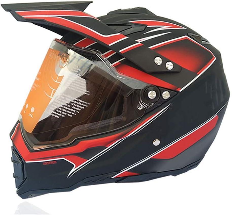 CHLDDHC Full Cover Four Seasons Motocross Max 72% OFF Seasonal Wrap Introduction Racing Off-Road Helmet