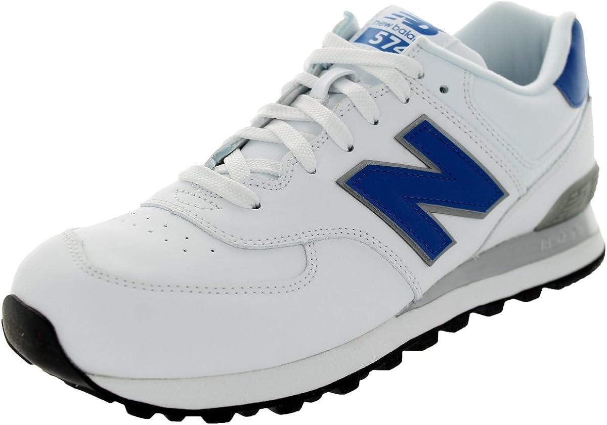 Amazon.com | New Balance Men's NB574 Leather Pack Running Shoe ...