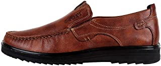 Toirt Men's Moccasins Loafers Slip-on Casual Driving Boat Formal Business Dress Comfortable Walking Shoes