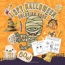 I Spy Halloween Book for Kids Ages 2-5: i spy spooky night | Fun Guessing Game Book for Young Kids to Celebrate Halloween this Fall Season (Game Books for Toddlers Kindergarteners and Young Children)