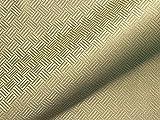Tela para Muebles Resistente al Fuego Sao Paulo FR, diseño Abstracto, Color Verde como Tela de tapicería Robusta, Tejido Acolchado Estampado para Coser y relacionar, poliéster FR