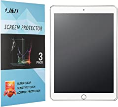 J&D Compatible for 3-Pack New iPad 9.7 inch 2017 Screen Protector, [Anti-Glare] [Full Coverage] Matte Film Shield Screen Protector for New iPad 9.7 inch, iPad Pro 9.7 inch, iPad Air, iPad Air 2