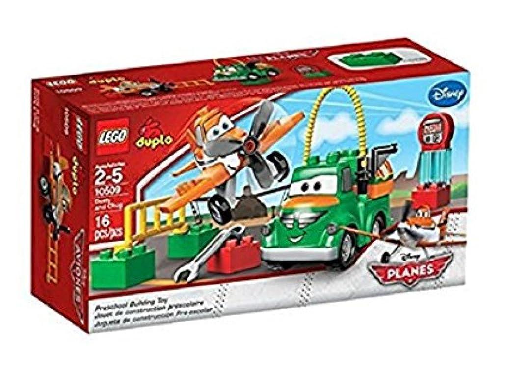 凶暴な画家サンプルレゴ (LEGO) デュプロ プレーンズ ダスティとチャグ 10509