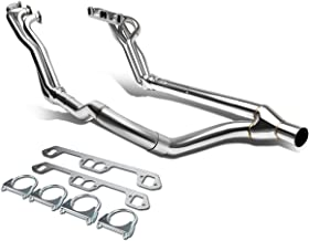 For Dodge Ram 1500/2500/3500 V8 2-PC 4-1 Long Tube Stainless Steel Exhaust Header/Manifold + Y-Pipe