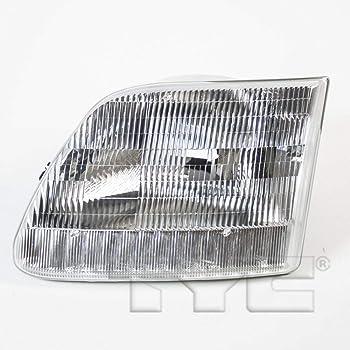 TYC 20-3017-78-9 Dodge Ram Pickup CAPA Certified Replacement Left Head Lamp