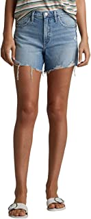 Silver Jeans Co. womens Frisco Vintage High Rise Shorts Shorts