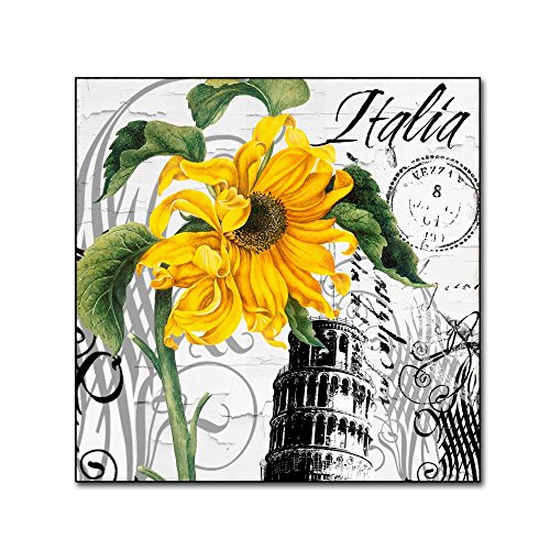 Italia I by Color Bakery, 18x18-Inch Canvas Wall Art