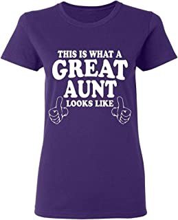 P&B This is What a Great Aunt Looks Like Women's T-Shirt