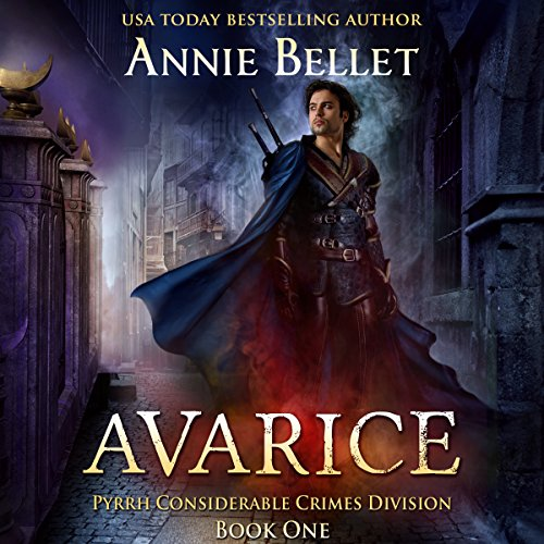 Avarice audiobook cover art