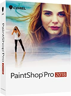 Corel PaintShop Pro 2018 Photo Editing and Graphic Design Suite for PC (Old Version)