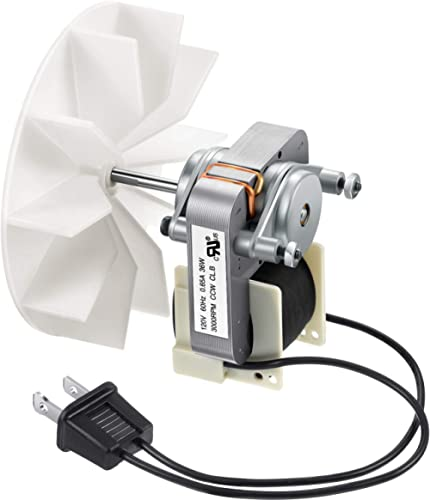 Century Electric Motors C01575 Universal Bathroom Fan Replacement Electric Motor Kit with Fan 115V