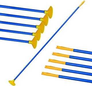 D&Q Suction Cup Arrows for Youth Children Kids Beginner Archery Arrow Outdoor Target Practice Sports Game Toy Gift Safe Archery Bow Set Replacement Hunting Shooting Sucker Arrows 24 Inch (Pack of 12)