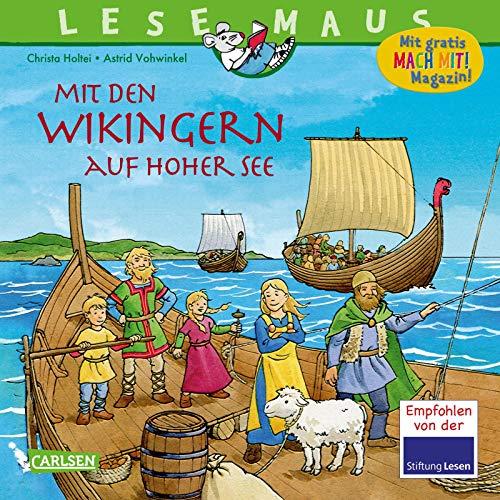 LESEMAUS 148: Mit den Wikingern auf hoher See (148)