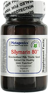Metagenics - Silymarin 80-90 Tablets [Health and Beauty]