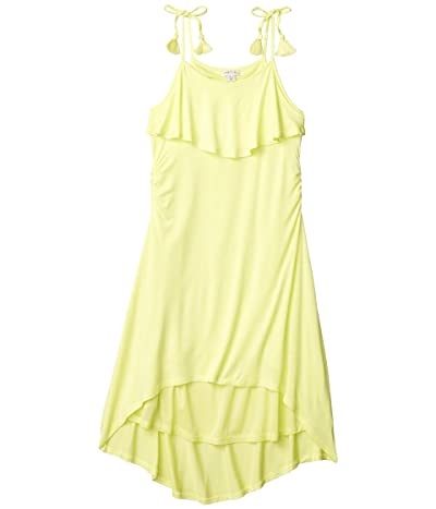HABITUAL girl Corrine Cover-up High-Low Dress (Big Kids) (Yellow) Girl