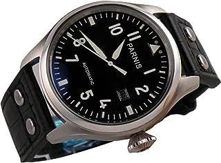 Fanmis 47mm Black Dial Big Pilots Automatic Mechanical Luxury Men's Wrist Watch Luminous Marks