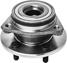 Front Wheel Hub and Bearing Assembly Left or Right Compatible Jeep Grand Cherokee Comanche Wagoneer Wrangler TJ YJ AUQDD 513084 [ 5 Lug ]
