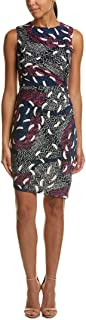 Donna Morgan Women's Sleeveless Printed Mj Dress