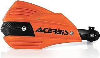 Acerbis X-Factor Handguards (Orange/Black)