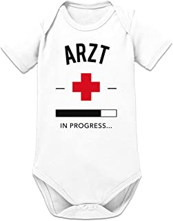 Shirtcity Arzt in Progress Baby Strampler by