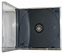 Yens Standard CD Jewel Case مونتاژ شده، سیاه و سفید، 50 قطعه