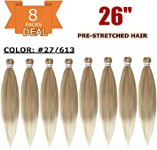 Pre-stretched Braiding Hair 8packs/lot ShowCoco 26