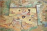Poster 30 x 20 cm: Spielzeug von Paul Klee/akg-Images -
