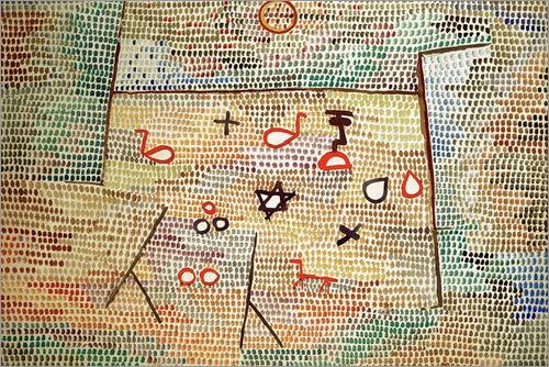 Poster 30 x 20 cm: Spielzeug von Paul Klee/akg-Images - hochwertiger Kunstdruck, neues Kunstposter