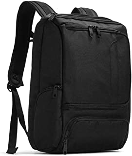 eBags Professional Slim Junior Laptop Backpack for Travel, School & Business - Fits 15.75 Inch Laptop - Anti-Theft - (Solid Black)