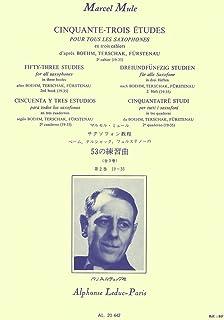 Marcel Mule: Fifty-Three Studies - Vol. 2 (All Saxophones)