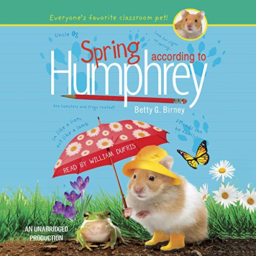 Spring According to Humphrey audiobook cover art