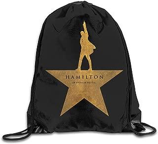 Drawstring Bag Hamilton An American Musical Gym Sport Bags Cinch Sacks Travel Hiking Backpack For Men Women