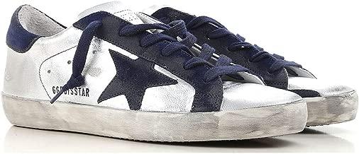 Golden Goose Deluxe Brand Superstar Silver Women Sneakers G33WS590.H51