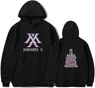 BOSON Monsta X Pullover Hoodie Jooheon IM Monho Kihyun Hyungwon Shownu Sweatshirt