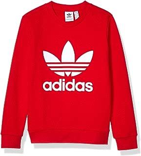 Little Kids Trefoil Crewneck Sweatshirt