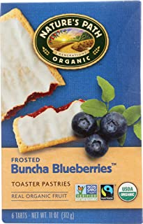 Nature's Path (NOT A CASE) Frosted Buncha Blueberries Toaster Pastries