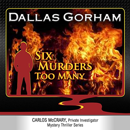 Six Murders Too Many audiobook cover art