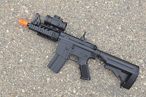 2012 cqb 320-fps Airsoft Rifle m16/m4 Style red dot
