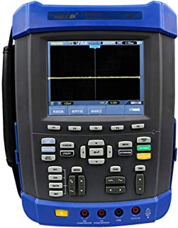 Tongbao DSO8152E 150Mhz Digital Storage Oscilloscope 1GSa/s 2M Memory Depth Six in One Oscilloscope/Recorder/DMM/Spectrum Analyzer Frequency Counter Arbitrary Waveform Generator 6000 Counts DMM USB