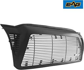 EAG Matte Black Aluminum Billet Packaged Grille Compatible with 2005-2011 Toyota Tacoma