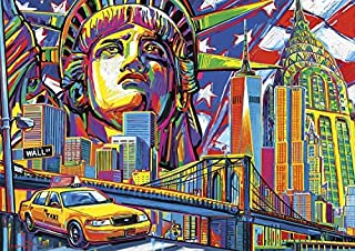 Buffalo Games - Vivid Collection - New York Color - 300 Large Piece Jigsaw Puzzle