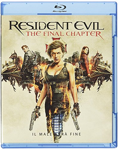 Resident Evil: The Final Chapter [Blu-ray] [2017] [Region Free]
