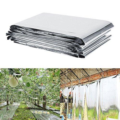 Pflanze Reflektierende Film, 1 Stück, 210 x 120 cm, reflektierend, Pflanze für Garten, Gewächshaus