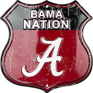 HangTime Bama Nation - University of Alabama Route Sign