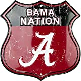 HangTime Bama Nation - University of Alabama Route Sign