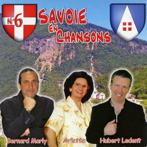 Arlette, Bernard Marly & Hubert Ledent