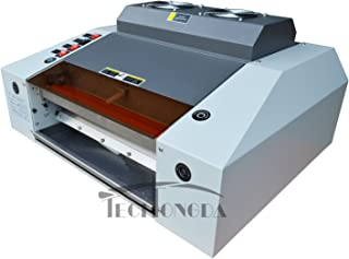 220V 13In A3 Width UV Laminating Photo Protect Coating Laminator Machine With Free Transformer