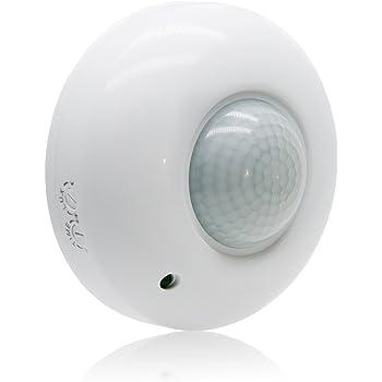 Sensky 360 Degree Ceiling Mount Occupancy Sensor 110 240v Pir Motion Sensor Switch High Sensitive Movement Detector Light Switch Neutral